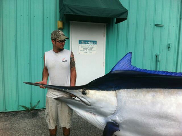 Black Marlin Mount