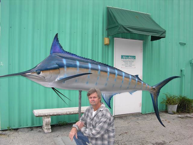 Blue Marlin Taxidermy