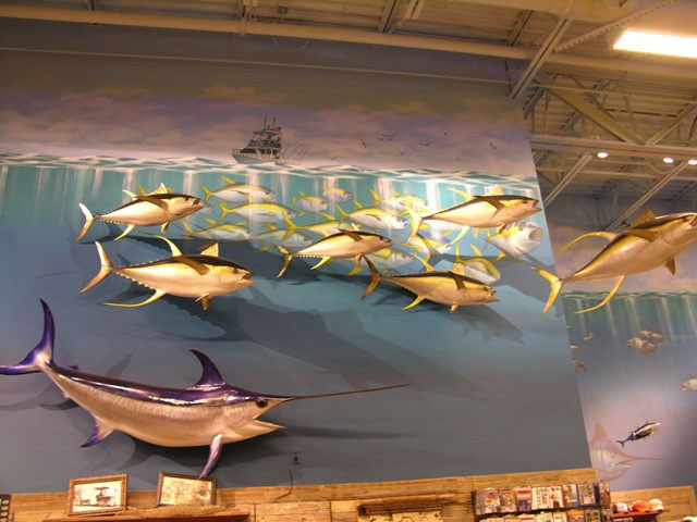 Yellowfin Tuna Replicas