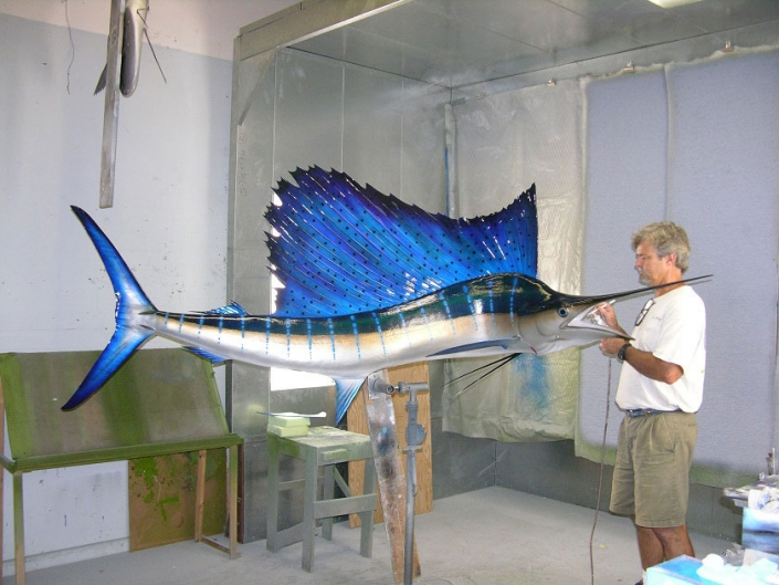 Pacific Sailfish Replicas