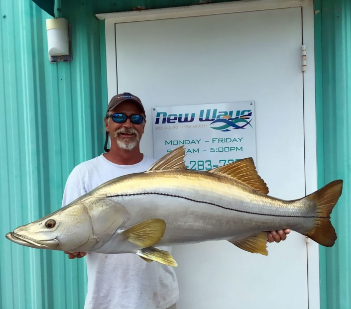 Snook Replica Mount