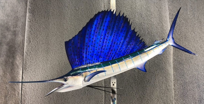 Sailfish Replica Mount